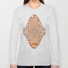 Longhorn Orange Long Sleeve T-shirt
