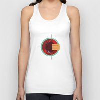 transistor Tank Tops featuring A Transistor by PAUSE