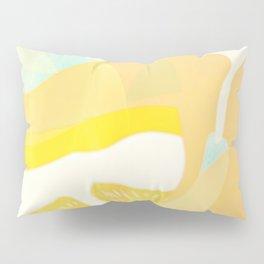 Lemon Meringue Melted Ice Cream  Pillow Sham