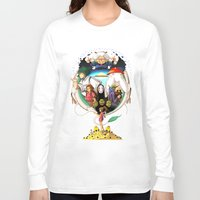 spirited away Long Sleeve T-shirts featuring Spirited away by Willow