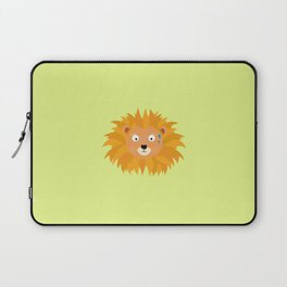 Sweating lion head T-Shirt for all Ages D3qq6 Laptop Sleeve