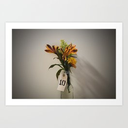 Lonely Flowers Art Print