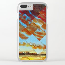 Leaded Lights II Clear iPhone Case