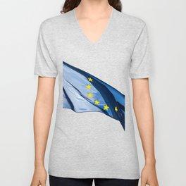 European flag Unisex V-Neck