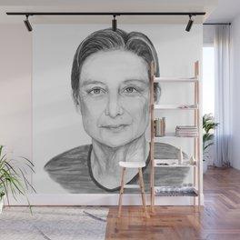 Judith Butler Wall Mural