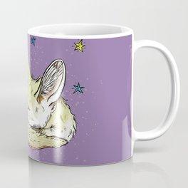 Sleep Tight, Fennec Fox Coffee Mug