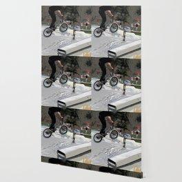 """Getting Air"" - BMX Rider Wallpaper"