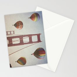 Golden Gate Balloons Stationery Cards
