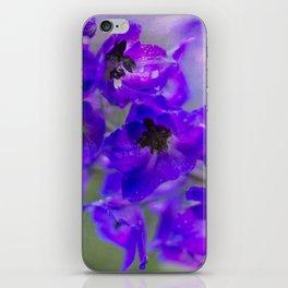 Daring Delphinium iPhone Skin