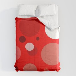 Red Dots Comforters