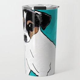 Dog Rat Terrier Travel Mug