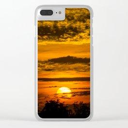 Waco Sun pt.2 Clear iPhone Case