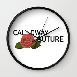 Calloway Couture Wall Clock