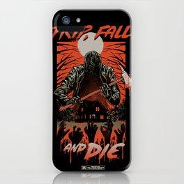 Every Slasher Movie iPhone Case