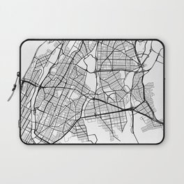 The Bronx New York Street Map Laptop Sleeve