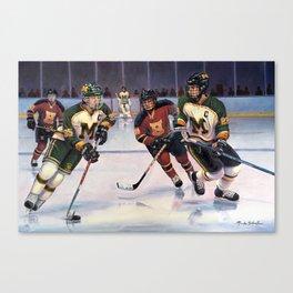 Lucas and Nick Esposito: Montgomery Cougars vs. Hillsborough Raiders Canvas Print