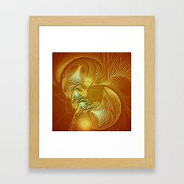 flamedreams -5- Framed Art Print