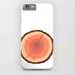 Humboldt Redwood Log iPhone Case