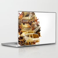 vans Laptop & iPad Skins featuring URBAN VANS by les83machines