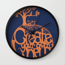 Create Your Own World Wall Clock