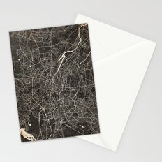 berlin map ink lines Stationery Cards
