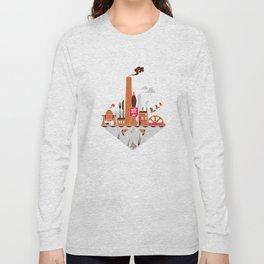 Welcome to the Kelham Island Quarter Long Sleeve T-shirt