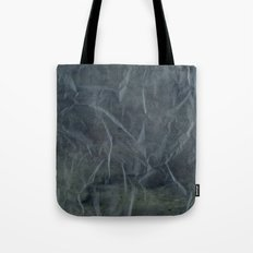 Steel Blue Paper Texture Tote Bag