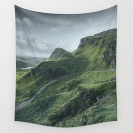 Up in the Clouds Wall Tapestry