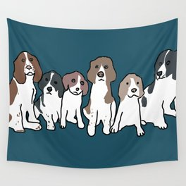 English Springer Spaniels Wall Tapestry