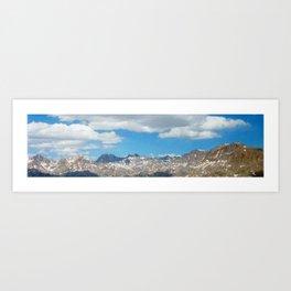 Bridger - Teton Mountains Art Print