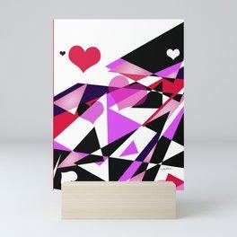 Single Track to Love 1 Mini Art Print