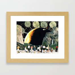 combos Framed Art Print