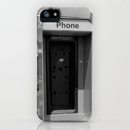Where have all the pay phones gone? #4 iPhone Case