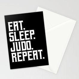 Judo Martial Arts Karate Stationery Cards
