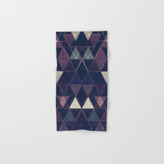 Triangles XXVI Hand & Bath Towel