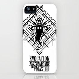 Evocation arcane master iPhone Case