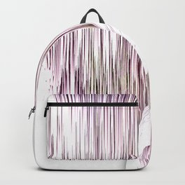 Planet Pixel Turn the Page Pink Backpack