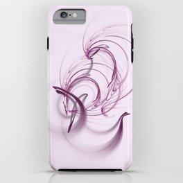 Lavender Swirls iPhone Case