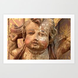 Cherub of Antiquity Art Print