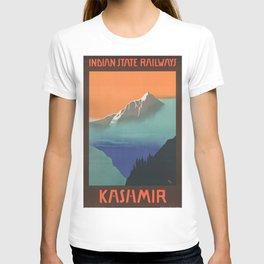 Vintage poster - Kashmir T-shirt