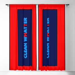 Clean water Blackout Curtain
