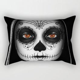 Das Gesicht Rectangular Pillow