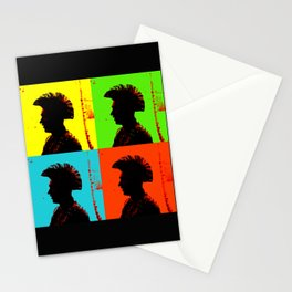 Popart punk Stationery Cards