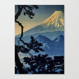 Seeing Far Within at Yonu Canvas Print