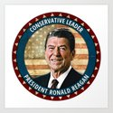 President Ronald Reagan by politics