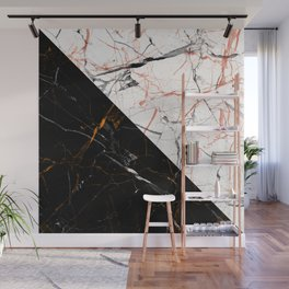 Marble Mirror Wall Mural