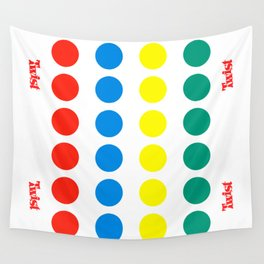 Twist game Wall Tapestry