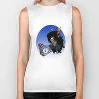 homestuck Biker Tanks featuring Spider's Apology by Alice Everyday