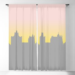 Sunset Skyline Blackout Curtain