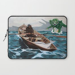 """Winslow Homer's """"Storm Warning"""" Revisted Laptop Sleeve"""